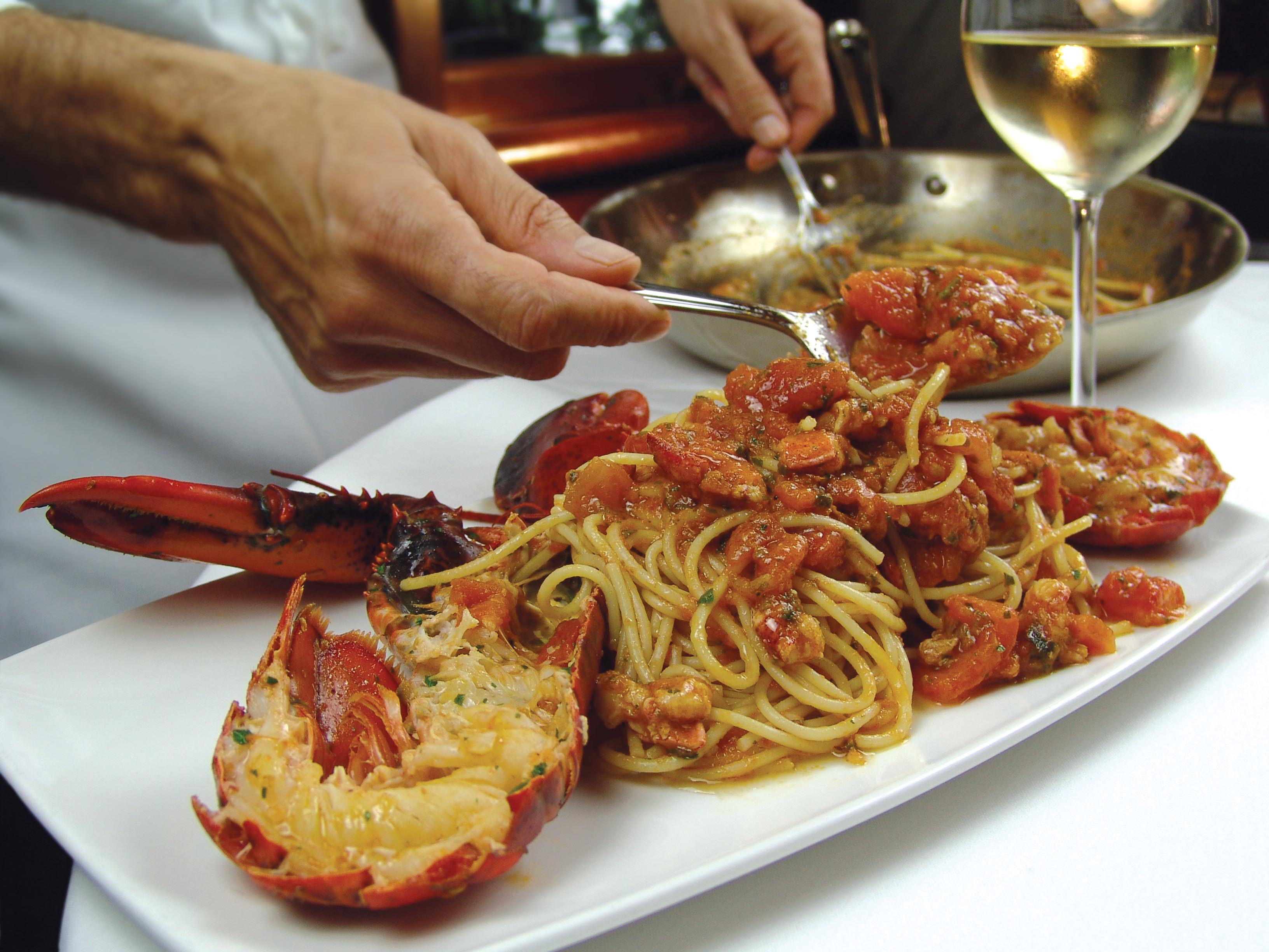 An island getaway for All about italian cuisine