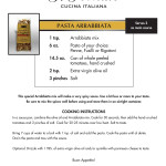 Whip Up Pasta Arrabbiata