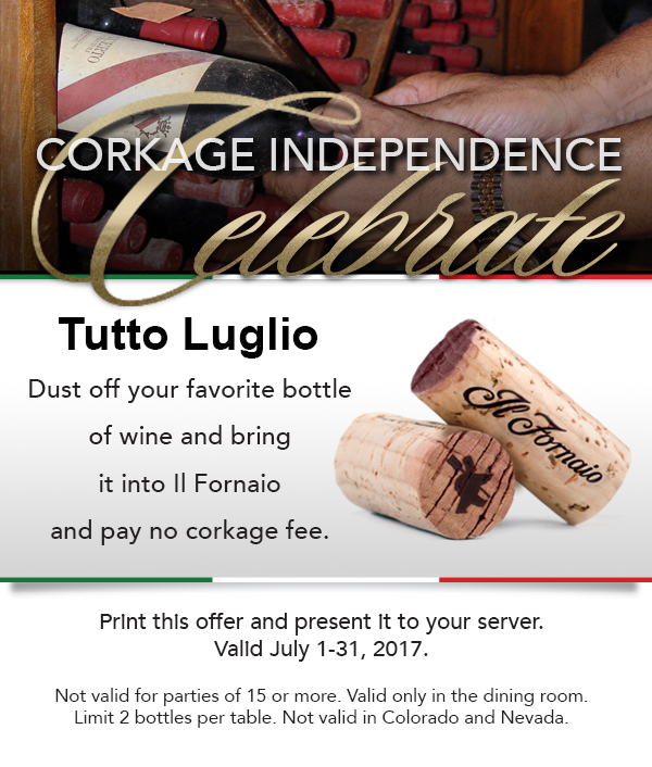 Corkage Independence