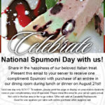 A Spumoni Day Treat on Us!