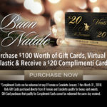 A $20 Complimenti Card Offer